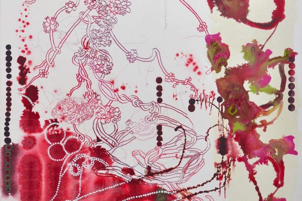 acrylic and embroidery on canvas | 240 x 200 cm | 2011