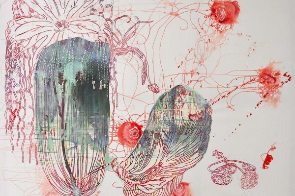 acrylic and embroidery on canvas | 200 x 240 cm | 2012-2015