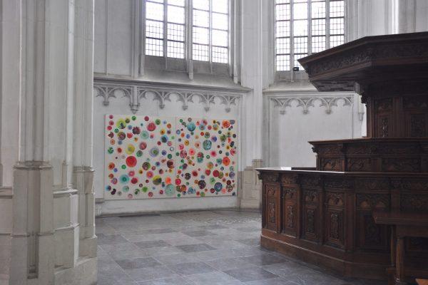 acrylic on canvas | 230 x 200 cm | Stevenskerk, Nijmegen | 2017