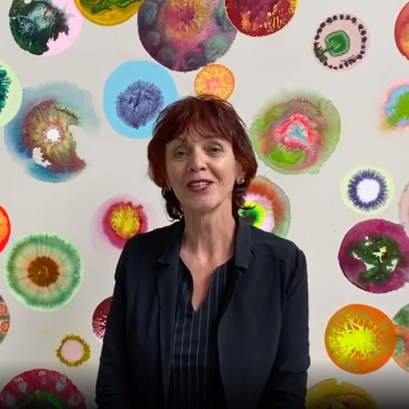 OPEN UP: Seet van Hout at her studio